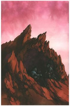 Arik Roper Dune Art for Mondo Gallery Sci-Fi Art Show Opening and new posters on sale