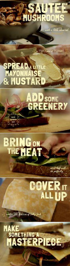 Bistro Beef and Jack Sandwich