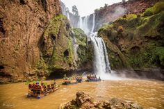 Water Falls in Morocco