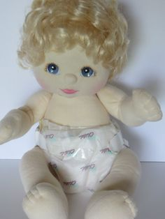 1985 Vintage Mattel My Child Doll-Blonde with by FleaMarketFloozie