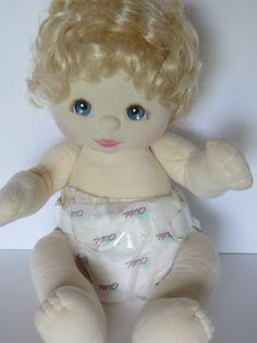 1985 Vintage Mattel My Child Doll-Blonde with by FleaMarketFloozie