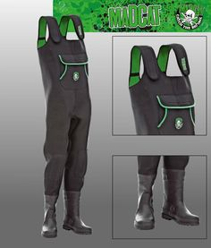 MADCAT Neoprene Waders, Taille 40/41