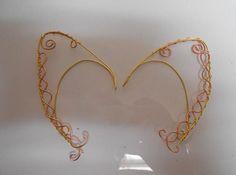 Ornate gold and Copper Elven Ear Cuff Pair sale by KingsfieldInn, $15.99