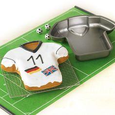 Moule à gâteau Maillot de foot - Cadeaux sur IdéeCadeau.fr