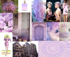 Julie Howlin Aura Soma Inspiration equilibrium bottle #66 The Actress Pale violet/pale pink