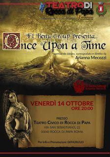 Claudia Grohovaz: ONCE UPON A TIME - Ideato, coreografato e diretto ...