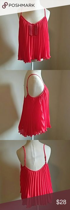 Free People red size S Free People red size S,  blouse.   Excellent condition.  Worn twice. Perfect for the Holiday Season. Free People Tops Blouses