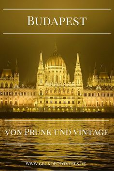 Prunk und Vintage gehen in Budapest Hand in Hand. Vielleicht ist die Stadt…