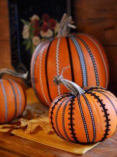 Les jolies #citrouilles d'Halloween...