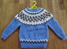 Icelandic traditional natural wool sweater type: by Woolartshop