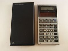 RARE! TI-30 SLR VINTAGE SOLAR CALCULATOR W/ CASE TESTED - FREE SHIPPING! #TexasInstruments