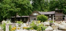 Otter's Den Bed & Breakfast, Bedford, Virginia - located two miles from the Peaks of Otter and the Blue Ridge Parkway, this historic structure is a restored chestnut log homestead built in 1797.