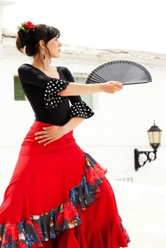 Flamenco dance in las Alpujarras