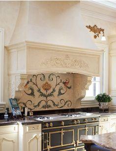 Willow Decor: Choosing Backsplash Tile like Art