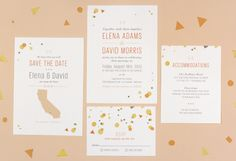 New Wedding Invitations from Love Vs Design