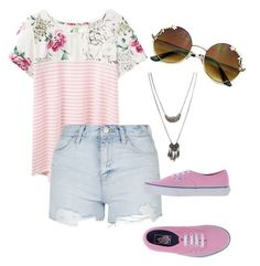 """Spring"" by sleepingwithsirens15 ❤ liked on Polyvore featuring Joules, Topshop, Vans and Wet Seal"