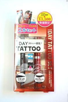 K-Palette 1Day Tattoo Real Lasting Liquid Eyeliner & Long Curl Mascara Limited #Kpalette