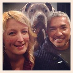 Junior photobombs another meet and greet in Red Bank, New Jersey. #JuniorMillan (ps. Check out this fans' face stickers!)