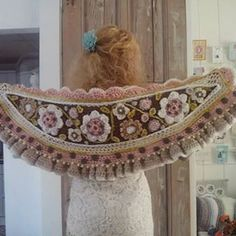 #softcollors  #warmth  #romantic #fashion #flowers  #lovely  #wool #sweet #crochetdesign #bohemian