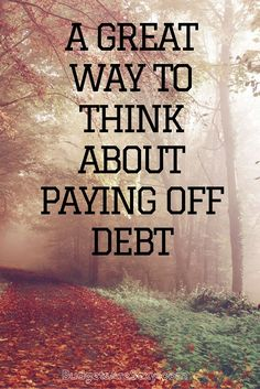 the more you can visualize stuff and give yourself little wins along the journey the better. Not only will it seem much more tangible to you, but you'll reach the finish line a lot sooner too!  http://www.budgetsaresexy.com/2015/11/great-way-pay-off-debt/ Career Advice, Career Tips