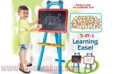 Detská magnetická tabuľa 3v1 Easel, Keto, Learning, Paper, Flip Charts, Studying, Easels, Teaching, Onderwijs