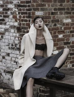 Blurred Lines   Yue Ning by Carter Bowman for SCMP Style Magazine F/W13
