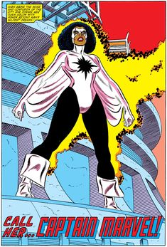 Captain Marvel way before Danvers usurped the mantle.