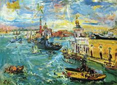 German Expressionist painter Oskar Kokoschka
