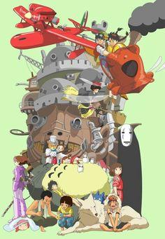 Ghibli characters