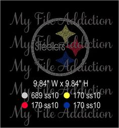 Instant Download Rhinestone SVG EPS Design File by MyFileAddiction