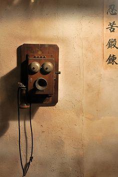 Moderne Telefonanlage :)