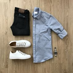 7 Impressive Cool Tips: Urban Wear Fashion Menswear urban dresses pants. Fashion Mode, Mens Fashion, Fashion Black, Fashion Menswear, Urban Fashion, Street Fashion, Casual Outfits, Men Casual, Casual Shirt