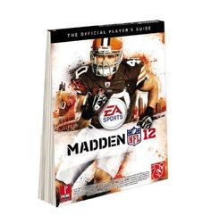 Madden Nfl 2012 The Official Players Guide By Gamer Media Book Instruction