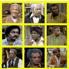 Best cast ever. Sanford and Son Black Tv Shows, Old Tv Shows, Movies And Tv Shows, Sanford And Son Cast, Good Times Tv Show, Norman Lear, Ving Rhames, Redd Foxx, The Good Son