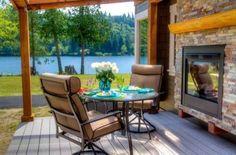 Entren en esta maravillosa casa modelo de parque diminuta: la isla de la cocina es la estrella