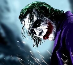 The Joker (Heath Ledger) The dark night #BestVillain