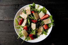 rucola / truskawki / parmezan / warsztaty kulinarne z Alfredo i Leonardo