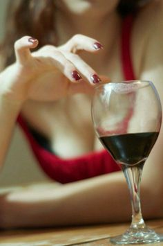 """whitehartland: """" I will follow back all similar blogs . Please don't follow me if you are a porn site. Thank you. """" you and your wine :-)"""