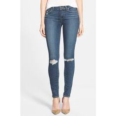 Paige Denim 'Transcend - Verdugo' Ultra Skinny Jeans ($189) ❤ liked on Polyvore