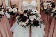 Vancouver wedding florist. Bridal bouquet. Vancouver wedding Bridesmaid Dresses, Wedding Dresses, Something Beautiful, Vancouver, Wedding Day, Bouquet, Bridal, Stylish, Unique