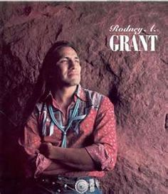 "Rodney A. Grant~  ""Dances With Wolves""  aka ""Wind in his Hair."""