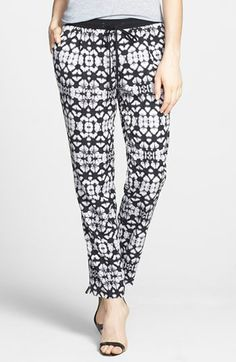 Sanctuary Print Jogger Pants available at #Nordstrom