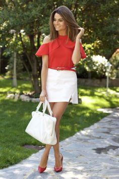 Rojiblanco | Blog de moda