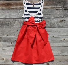 Going to make this.... 4th of July dress...