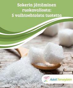 Sokerin jättäminen ruokavaliosta: 5 vaihtoehtoista tuotetta  Sokerin jättäminen vähemmälle kannattaa, sillä liika saanti voi johtaa eräisiin sairauksiin, joita ilmenee sekä aikuisilla että lapsilla. Gelatin, Stevia, Health Benefits, Food, Alternative, Jello, Essen, Meals, Yemek