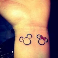 Mickey & Minny mouse