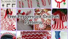 Free Peppermint Crochet Patterns