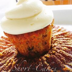 Best carrot cake ever! With delicious cream cheese frosting.