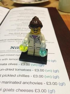 Finest Lego pharmacist you'll see today. h/t @cathrynjbrown