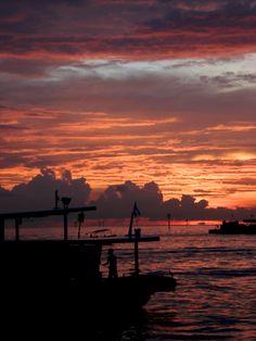 Sunset: Fifty Shades of Fire (Kota Kinabalu, Borneo, Malaysia)